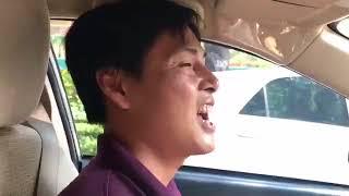 Tài xế Grab vỡ òa khi thấy Như Quỳnh trên xe