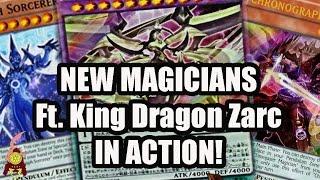 NEW PENDULUM MAGICIAN FT. KING DRAGON ZARC! IN ACTION! BROKEN! FIRST TURN ZARC OP!(YGOPRO) 2016
