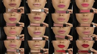 Jouer Long-Wear Lip Crème Liquid Lipstick LIP SWATCHES