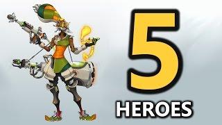 Top 5 New Hero Concepts (Overwatch)