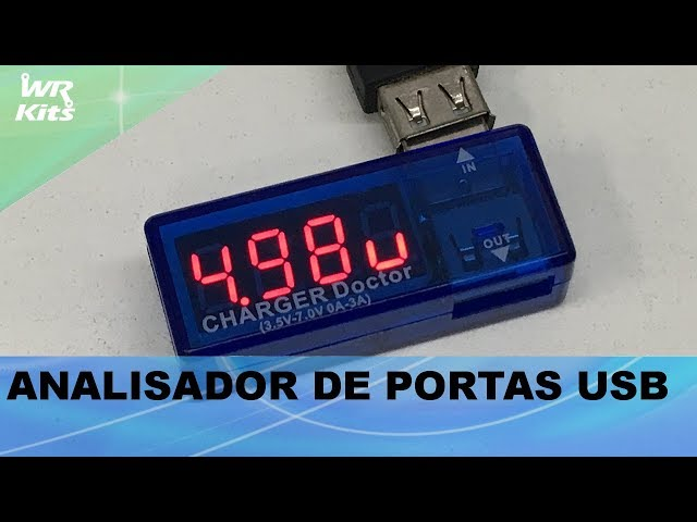 REVIEW ANALISADOR DE PORTAS USB