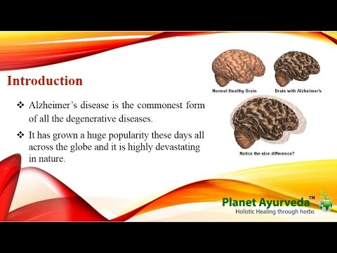 Natural Treatment for Alzheimer's Disease