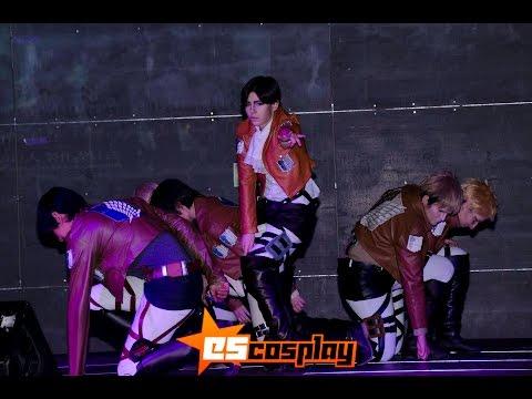 Baixar [EsCosplay] Especial Ataque a los Titanes (Intro + Cover Dance This Love + Reika)
