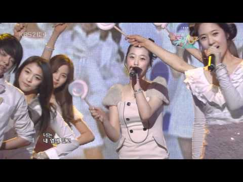 f(x) special - Kissing You w/ SNSD Sooyoung Seohyun Jan 1, 2010 1/2 GIRLS' GENERATION Live HD