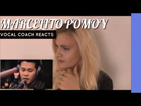 VOCAL COACH REACTS   MARCELITO POMOY  sings The Prayer!