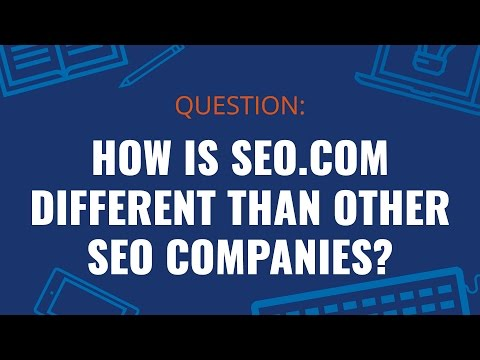 How is SEO.com Different than Other SEO Companies?