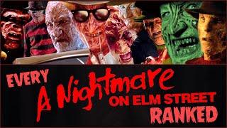 Every A NIGHTMARE ON ELM STREET Movie RANKED!