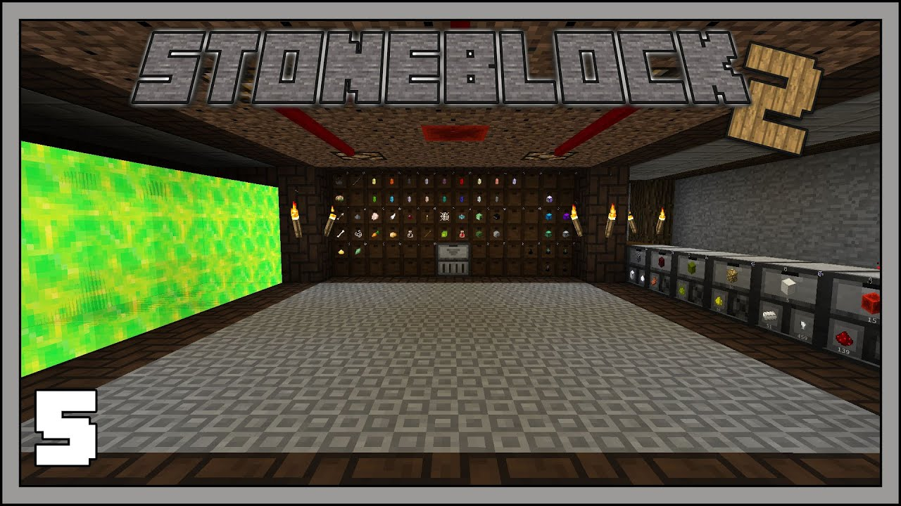 Stoneblock 2 - EP5 - Mob Farm Upgrades & Storage - Modded Minecraft 1 12 2