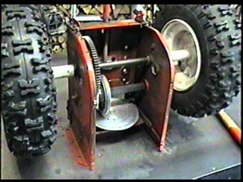 How The Friction Disc Wheel Works On Your Snowblower Youtube