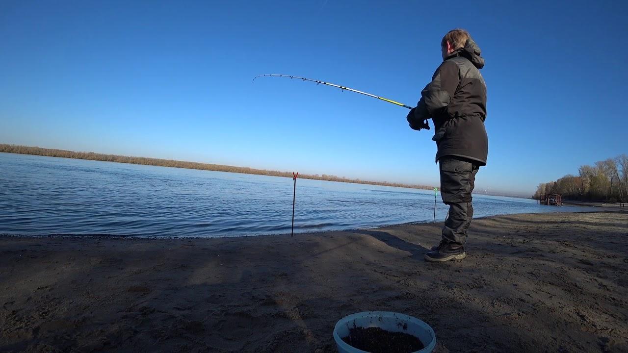 Зимняя рыбалка в камне-на-оби
