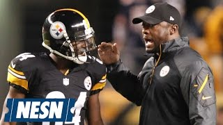 "Mike Tomlin Calls Antonio Brown ""Selfish"" For Posted Video"