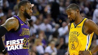 First Take gets heated debating LeBron vs. Kevin Durant