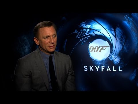 'Skyfall' Daniel Craig Interview HD