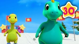 10 Little Dinosaurs | Little Baby Bum | Baby Songs & Nursery Rhymes | Learning Songs For Babies