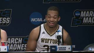 News Conference: Wofford vs. Seton Hall First Round Postgame