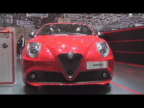 @Alfa_Romeo #Mito Veloce 1.4 170 hp TCT Alfa Red (2017) Exterior and Interior in 3D