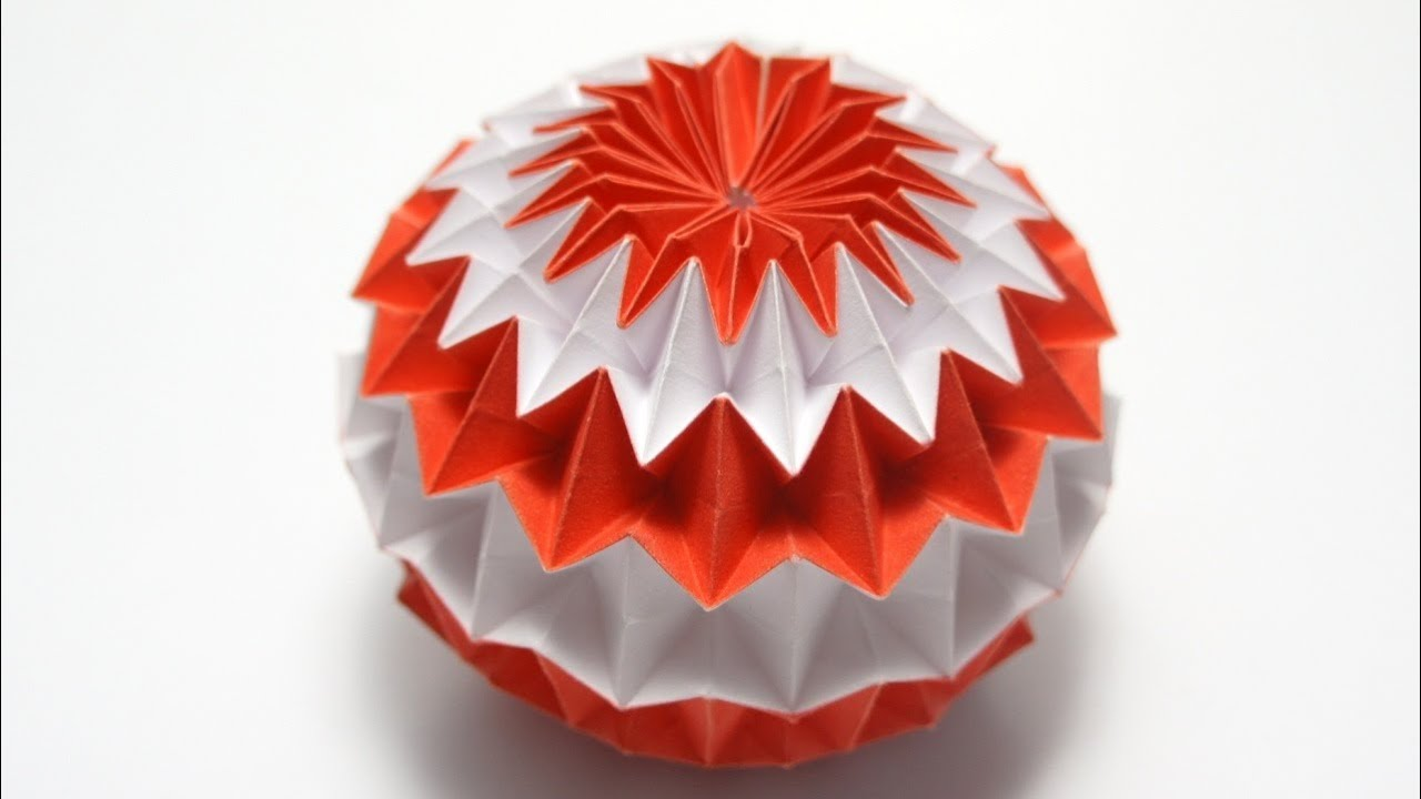 Origami Magic Ball (Dragon's Egg by Yuri Shumakov) - YouTube - photo#3