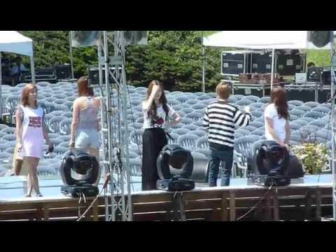 [FANCAM] F(x) KryBer Jeju event rehearsal