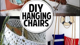 HANGING CHAIR ❤️DIY (tutorial)