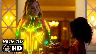 CAPTAIN MARVEL Clip - Suit Change (2019) Brie Larson