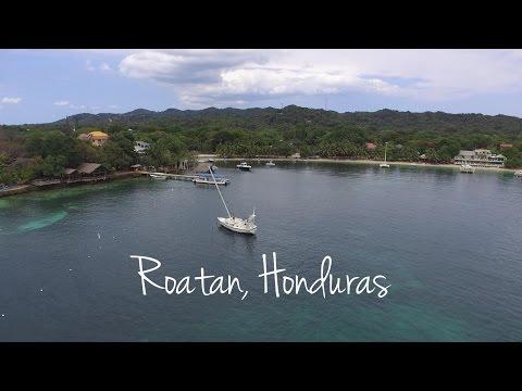 The Caribbean island of Roatán in Honduras - Roatan, Honduras