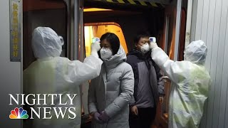 Chinese Cities On Lockdown Over Fears Of Deadly Coronavirus | NBC Nightly News