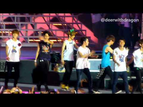 [120922 SMTown in Jakarta ending] SM Artists - Hope (EXO focus)