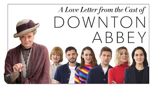 A Love Letter to Maggie Smith from the Downton Abbey Cast   Harper's BAZAAR