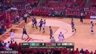 Golden State Warriors vs Houston Rockets - Full Highlights   Game 4   May 25, 2015   NBA Playoffs