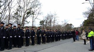 Funeral of Sgt. Sean Gannon in Cape Cod