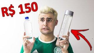 ÁGUA DE R$ 150,00 vs ÁGUA DE R$ 1,00 !!!