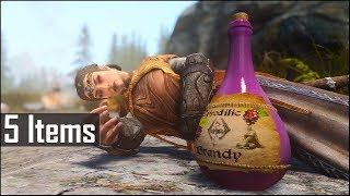 Skyrim: 5 More Extremely Rare and Secret Items, that are Useless in The Elder Scrolls 5 (Part 3)