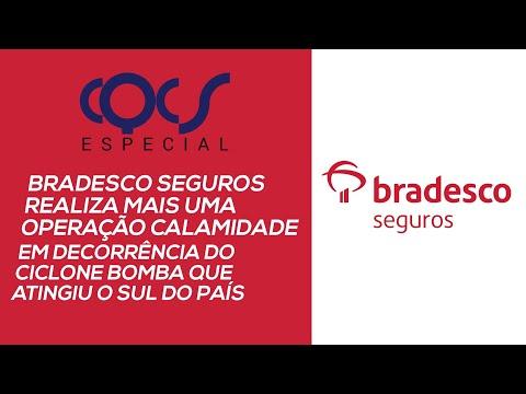Imagem post: Bradesco Seguros realiza mais uma operação calamidade em decorrência do ciclone bomba
