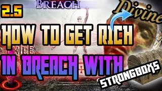 Path of Exile: HOW TO GET RICH IN BREACH WITH STRONGBOXES - GUIDE - Breach League - 2.5