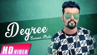 Degree – Sameer Mahi