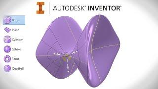 Freeform Modelling Tutorial | Autodesk Inventor