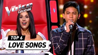 TOUCHING LOVE SONGS in The Voice Kids