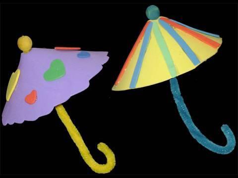 Sombrillas para hacer en foami - Imagui