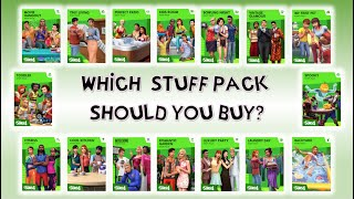 Which SIMS 4 Stuff Pack should you buy? RATING SIMS 4 STUFF PACKS!