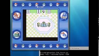 Pokemon Blue: Sending random data in link battles