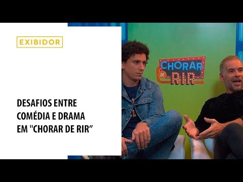 Leandro Hassum e Rafael Portugal falam sobre o filme