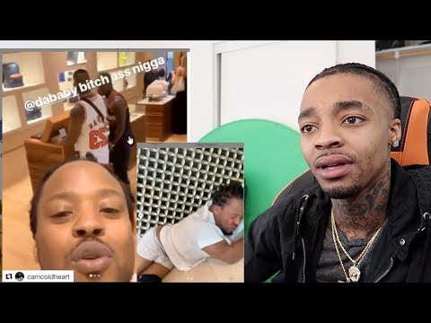 Goon Wanted To Test Dababy's Gangsta & Paid The Price REACTION!