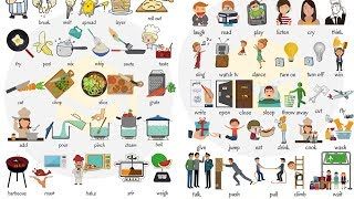 Learn 250+ Common Verbs in English in 25 Minutes | English Verbs for Kids
