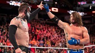 """AJ Styles Vs. """"The Demon"""" Finn Bálor (WWE TLC 2017)"""