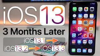 iOS 13 - 3 months later - Review and Follow Up