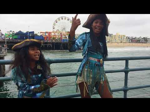 """""""I don't own the rights to the music"""" What's My Name - Descendants 2 cover by Little Jackie & Jordi"""
