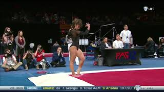 Katelyn Ohashi 2018 Floor at PAC-12 Championships 9.950
