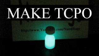 How to make TCPO (for making glow sticks)