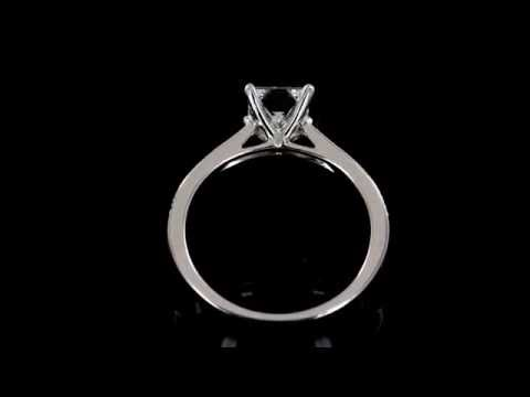 Browns Family Jewellers Princess Cut Diamond Engagement Ring