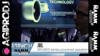 JBL PROFESSIONAL SRX835P in action